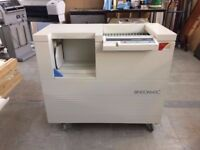 Bindomatic 201 DFS (Document Finishing System) Working Condition