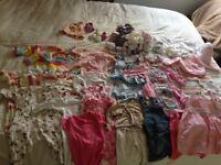 Girls Summer Clothes Bundle (0-3 months)
