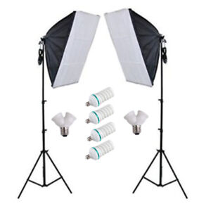 """900w Photo/Video Continuous Softbox Lighting Kit """"NEW"""""""