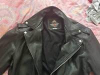 Harley Davidson bike leather jacket