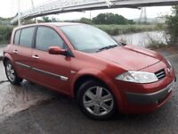 06 REG 1.5 DIESEL MEGANE WITH THE 6 SPEED GEARBOX..ALLOY WHEELS..AUTO LIGHTS..ELECTRIC WINDOWS ALL