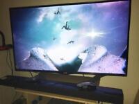 LG Smart TV + sound bar