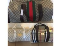 Gucci LV Burberry Holdalls Luggage Gym Duffle Designer bags Louis Vuitton london cheap hendon barnet