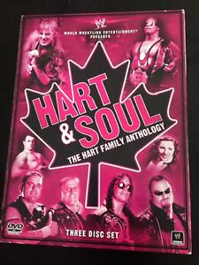 WWE - Hart Family DVD Set