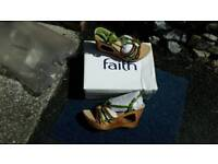 Ladies Sandals By FAITH size 7