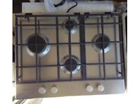 ***NEW Hotpoint built in gas hob for SALE with 12 years guarantee***