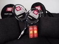 Brand New Wilson Pro Rackets