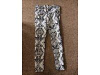 Aztec print jeans (10)