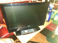 19 inch tv with remote