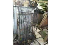 Wrought iron gates x2