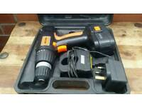 Challenge,cordless drill, battery power not much enough, fully working