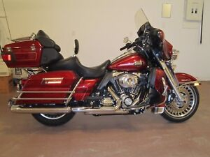 2010 Harley Davidson Motorcycle-Electra Glide Ultra Classic