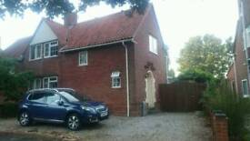 3 bed semi-detached house (updated photos and details) with very large conservatory