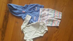 Newborn baby girl clothing