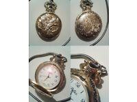 Vintage retro vintage Quartz pocket watch