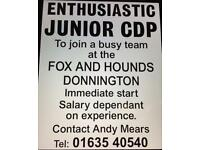Junior CDP required
