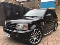 RANGE ROVER SPORT 4.2 SUPERCHARGED FIRST EDITION 400BHP **FULL HISTORY**FULL MOT**