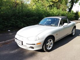 Mazda MX-5 1.8 soft-top fully AUTOMATIC