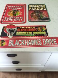 Chicago Blackhawks decor
