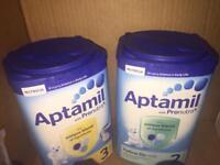 Aptamil Milk 1-2 years & 6-12 months