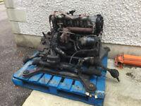 Volvo v70 2.5 TDi Engine/Gearbox/Turbo D5252T Diesel Complete! Audi AEL VW Transporter T4 Conversion