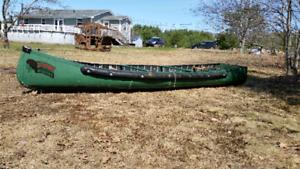 14' transom canoe
