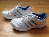 Mens White Adidas Running Shoes