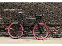 Special Offer GOKU CYCLES Steel Frame Single speed road bike TRACK bike fixed gear BIKE 2wq