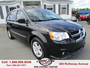 2013 Dodge Grand Caravan Crew $175.28 BIWEEKLY!!!