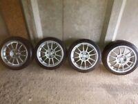 Oz Superleggera alloy wheels lightweight