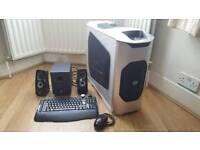 Desktop PC, Speakers, Keyboard & Mouse