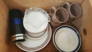 Dishes set of 4