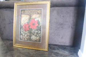 Chic Floral Painting for Sale