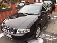 Audi A4 1.9tdi SE 130 bhp 2002 Metallic Black