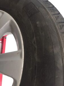 Selling winter tires +Toyota rims