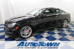 2012 Mercedes-Benz C-Class C63 AMG/NAV/SUNROOF/LEATHER/LOW KM