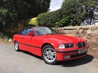 BMW E36 323i convertible * FSH * Rust Free * Leather