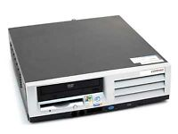 HP Compaq EVO D510 Desktop PC P1 Intel Pentium 4 2.4 GHz 512MB 40GB CDRW, Fresh Win 7 Ultimate 32Bit