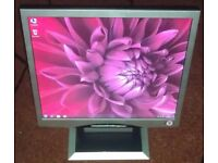 "17"" CTX LCD monitor for PC / Laptop / CCTV SECURITY CAMERA - GREAT CONDITION - DELIVERY"