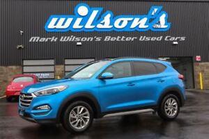 2017 Hyundai Tucson SE AWD! LEATHER! PANORAMIC SUNROOF! $82/WK,
