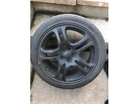 "17"" subaru wrx wheels"