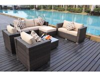 New Rattan conservatory / outside garden furniture