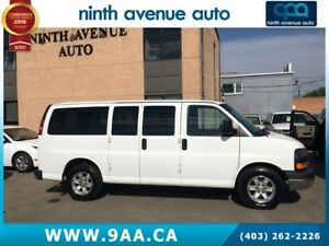 2013 GMC Savana 1500 SLE All-wheel Drive 8 Passenger Van