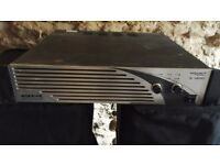 WARRIOR PA AMPLIFIER 1200 WATTS RMS HEAVY DUTY AND VERY POWERFULL FOR PA OR DISCO TYPE USE