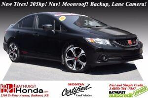 2015 Honda Civic Sedan SI New Tires! i-VTEC - 205hp! Navigation!