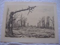 Muirhead Bone First World War Drawings Edition de Luxe 44 large Prints Antique