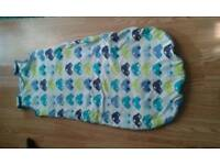 BABY BOY GROW BAG/SLEEPING BAG