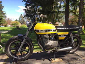 Yamaha XS400 Street Tracker Cafe Racer sale or trade for VFR750