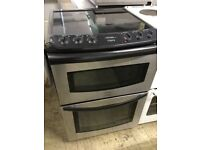 Silver stainless steel Tricity Bendix Electric Cooker