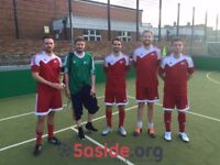 Spaces for teams & individuals in 5-a-side leagues in London Bridge